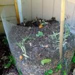 wire compost bin - 2