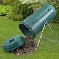 How to Compost. A Vertical Tumbler