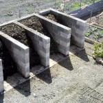 4-bin turning units from breeze-blocks