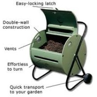 How to compost -a compost tumbler