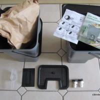 bokashi bins and accessories