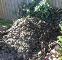 compost pile garden composting