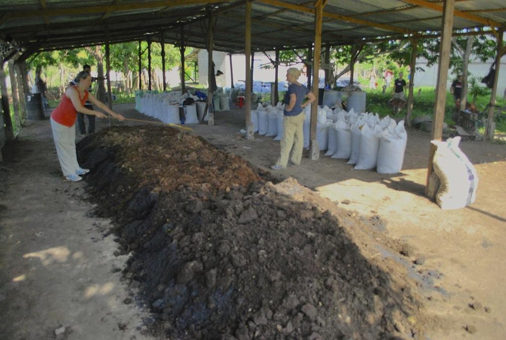 Bokashi composting in El Salvador