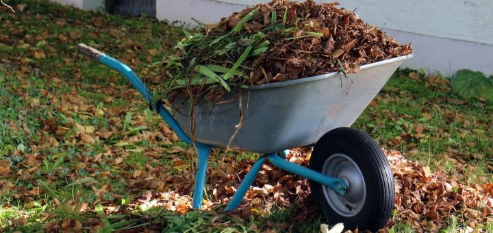 compost wheelbarrow